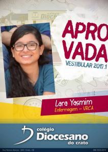 Lara Yasmim - URCA