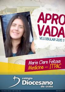 Maria Clara Feitosa - MEDICINA