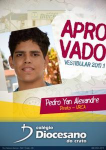 Pedro Yan Alexandre - URCA