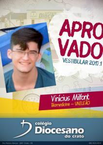 Vinícius Milfont - UNILEÃO